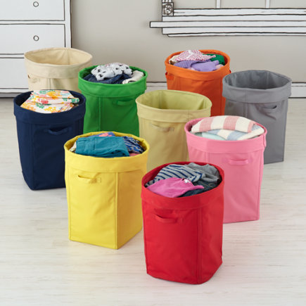 Storage containers kids room decor for Hampers for kids rooms