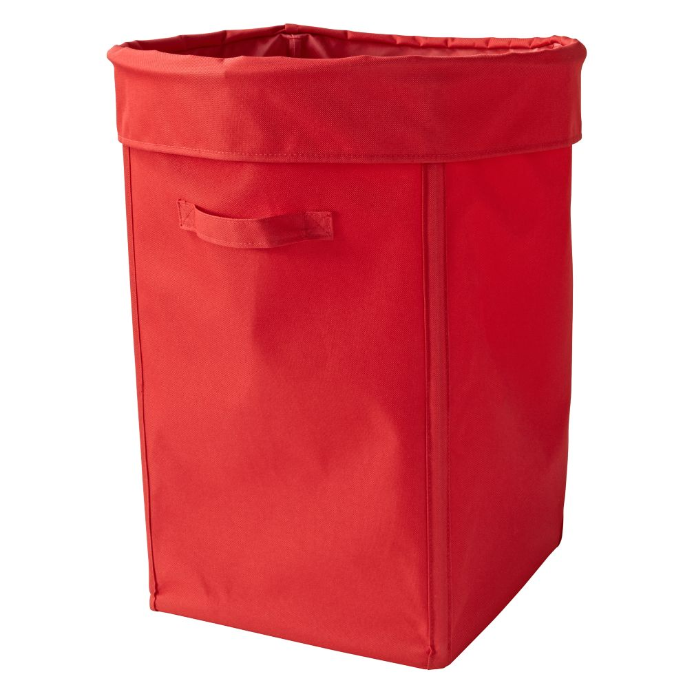 I Think I Canvas Bright Red Hamper