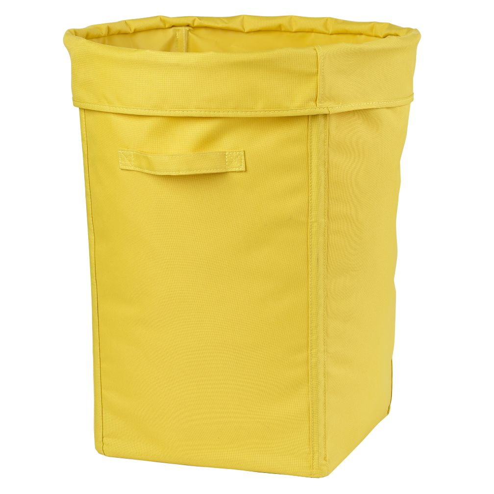 I Think I Canvas Hamper (Yellow)