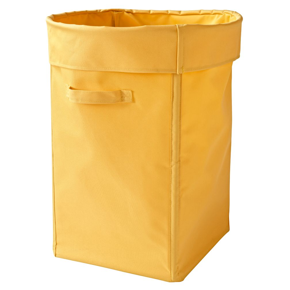 I Think I Canvas Light Yellow Hamper