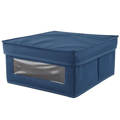 I Think I Canvas Sweater Box (Blue)