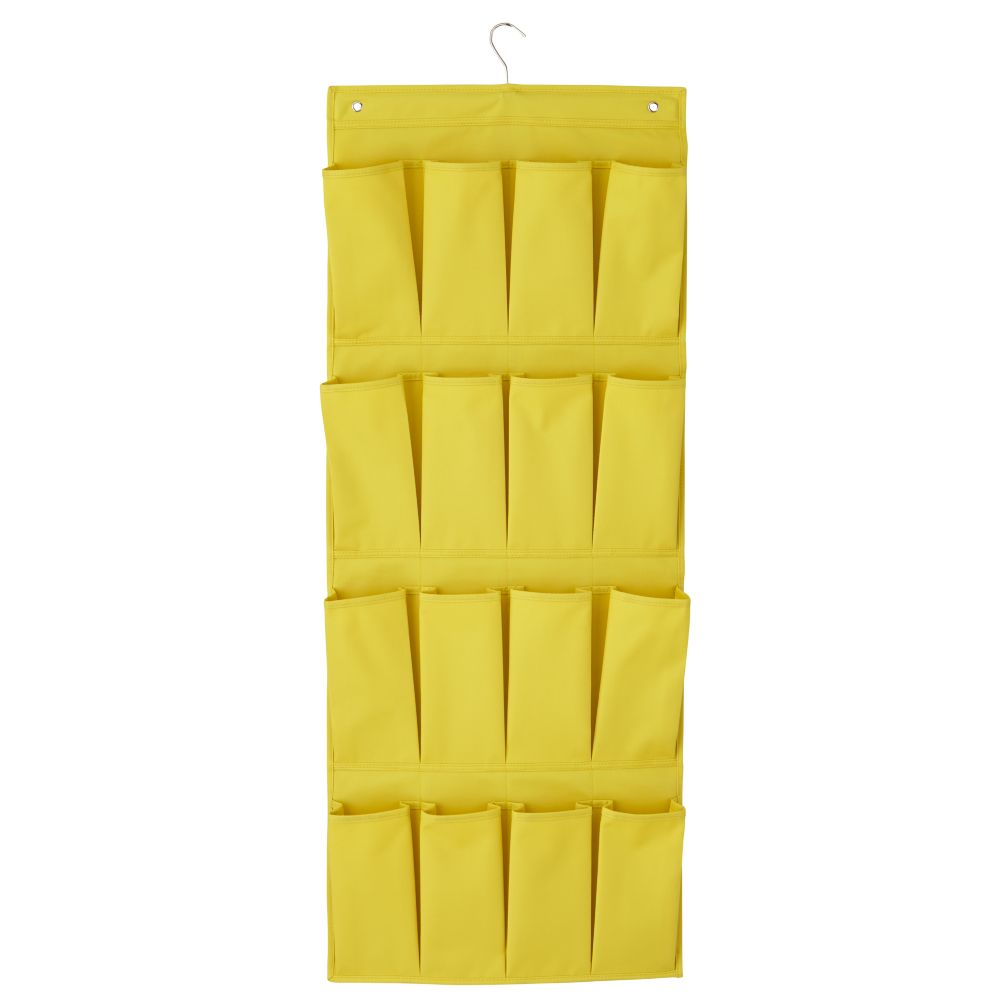 I Think I Canvas Shoe Hanger (Yellow)