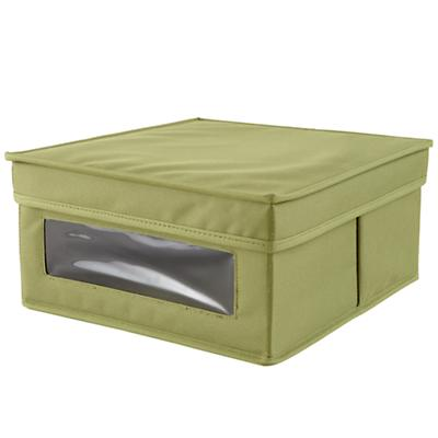 I Think I Canvas Sweater Box (Green)