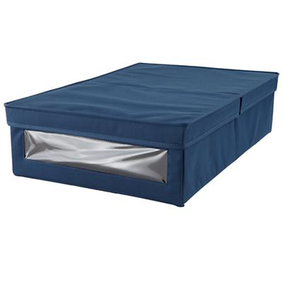 I Think I Canvas Underbed Box (Blue)