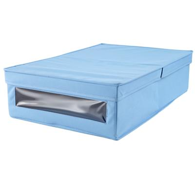 I Think I Canvas Underbed Box (Lt. Blue)