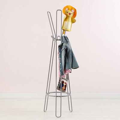 Kidsstoragegrey framework coat rack clothes trees Kids coat rack