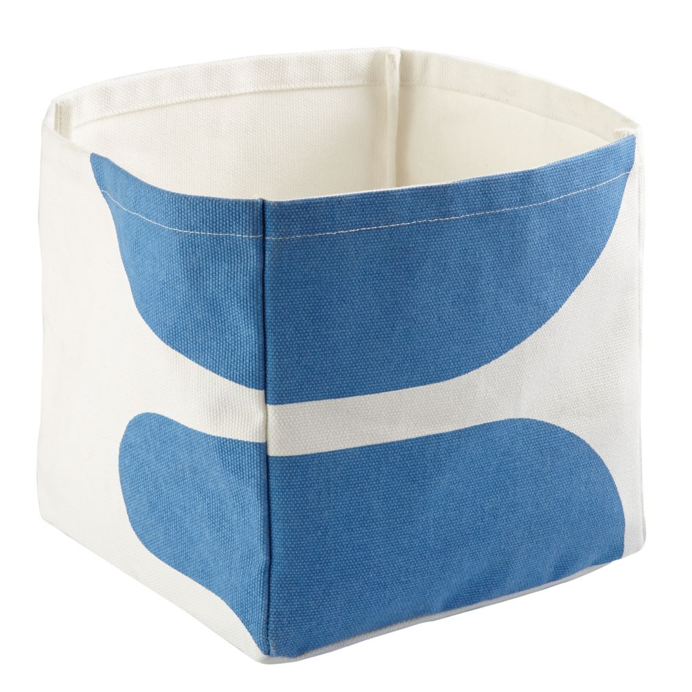 Color Pop Cube Bin (Blue)