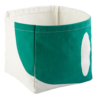 Color Pop Cube Bin (Green)