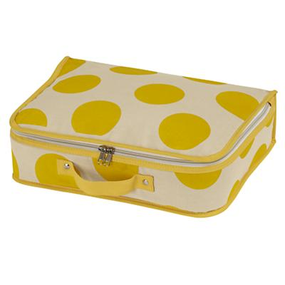 Dotted Suitcase (Yellow)