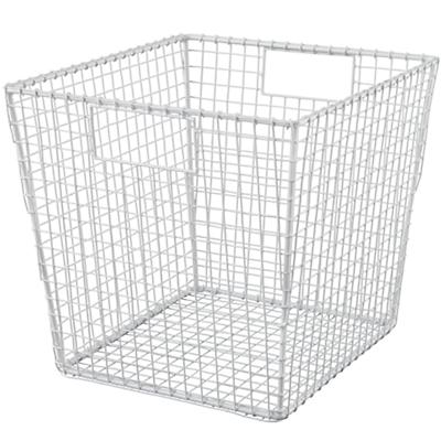 Down to the Wire Cube Bin (White)