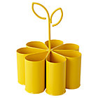 Yellow Flower Art Caddy