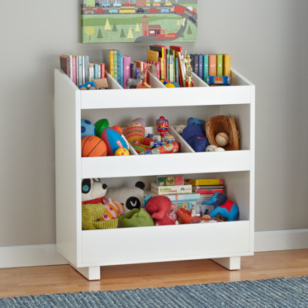 Superior White General Storage Shelf