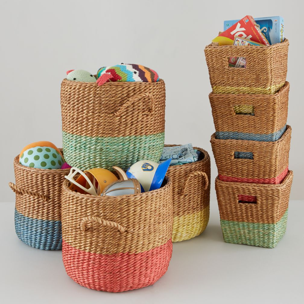 Half Tone Basket Collection
