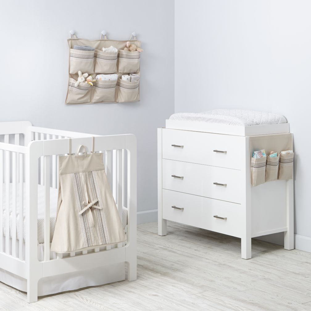 Storage bins baskets the land of nod - Comodas bebe ikea ...