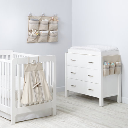 Hushaby Neutral Diaper Holder