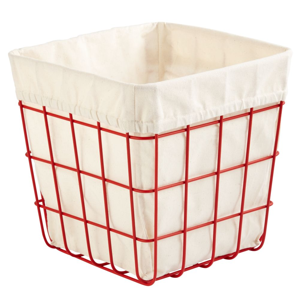 Index Cube Bin (Red)