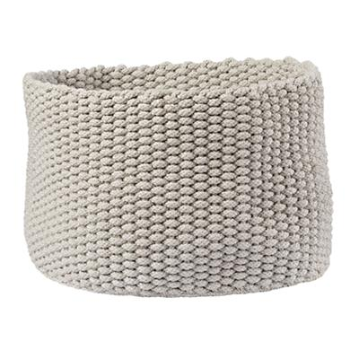 Large Kneatly Knit Rope Bin (Khaki)