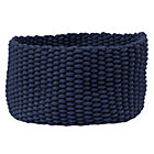 Medium Dk. Blue Kneatly Knit Rope Bin