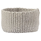 Medium Khaki Kneatly Knit Rope Bin