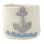 Anchor Knit Nursery Bins.