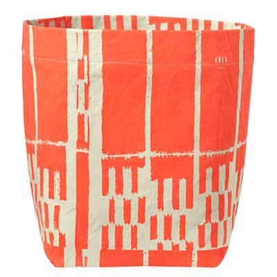 Organic Landscape Floor Bin (Orange)