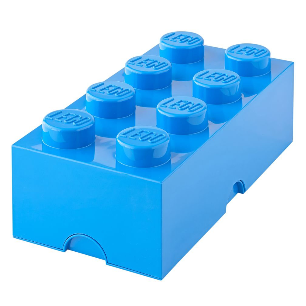 Blue Lego Storage Brick 8