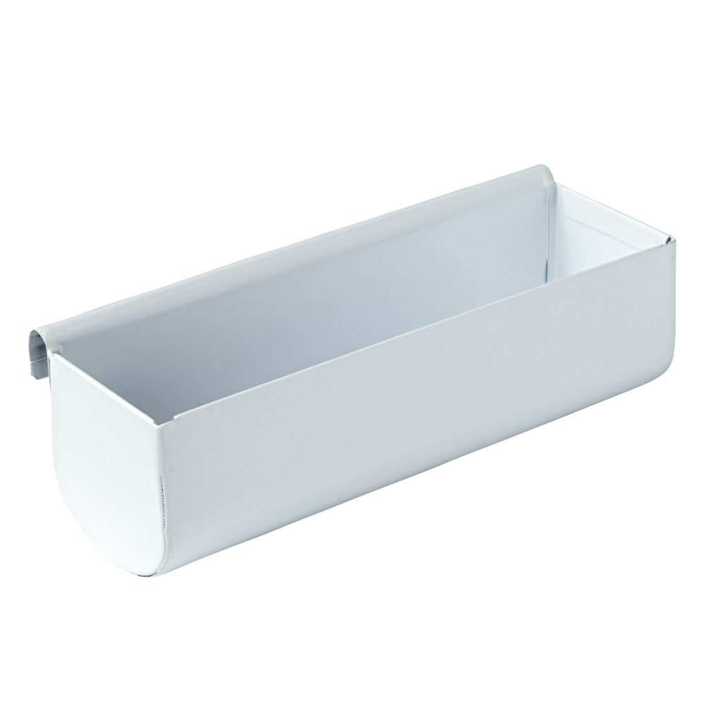 Eric Trine Linear White Wide Pot