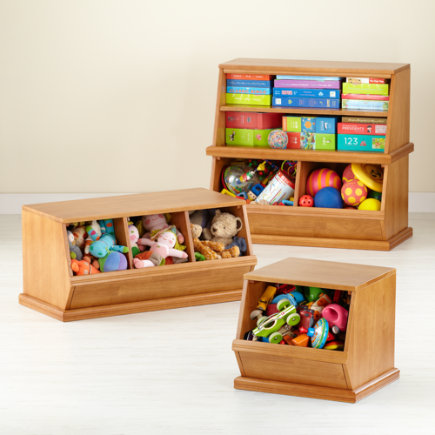 kids toy boxes kids wooden primary stacking storage 1 2 and 3 bin