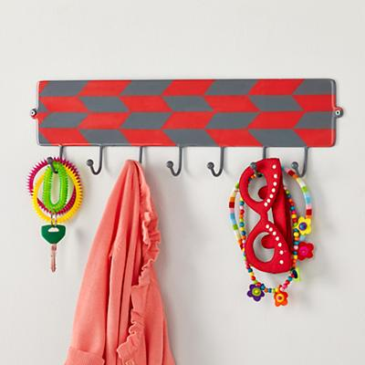 Hooks and Laterals Wall Rack