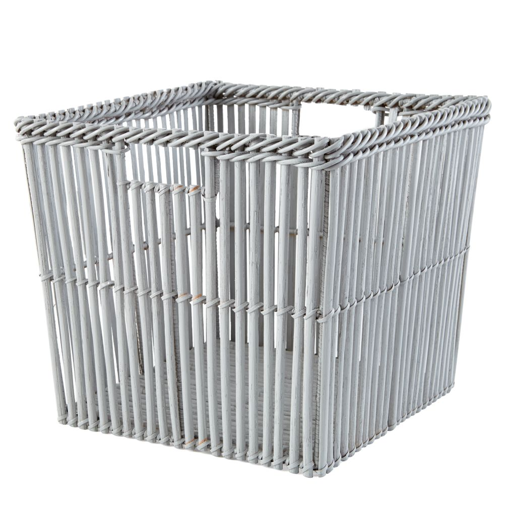 Reed Between the Cube Bin (Grey)