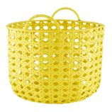 Lattice Floor Bin (Yellow)