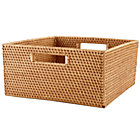 Honey Rattan Large Changer Basket