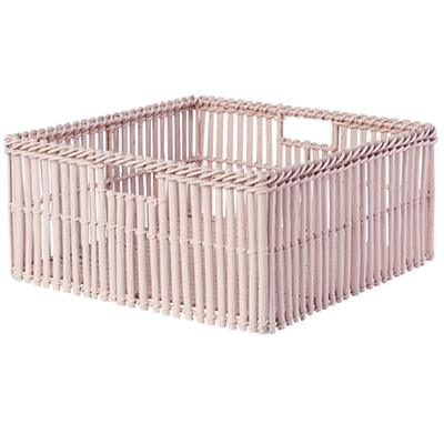 Reed Between the Large Changing Table Basket (Lt. Pink)