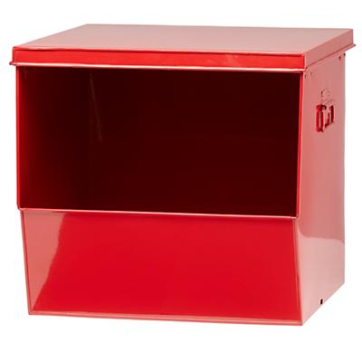 Stack Up Metal Bin (Red)