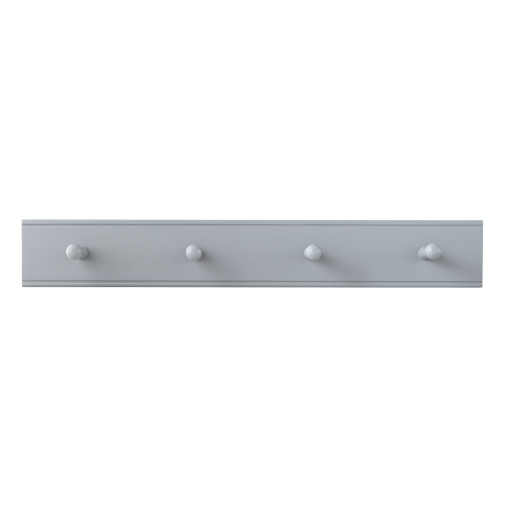 Straight & Narrow Peg Rail (Grey)