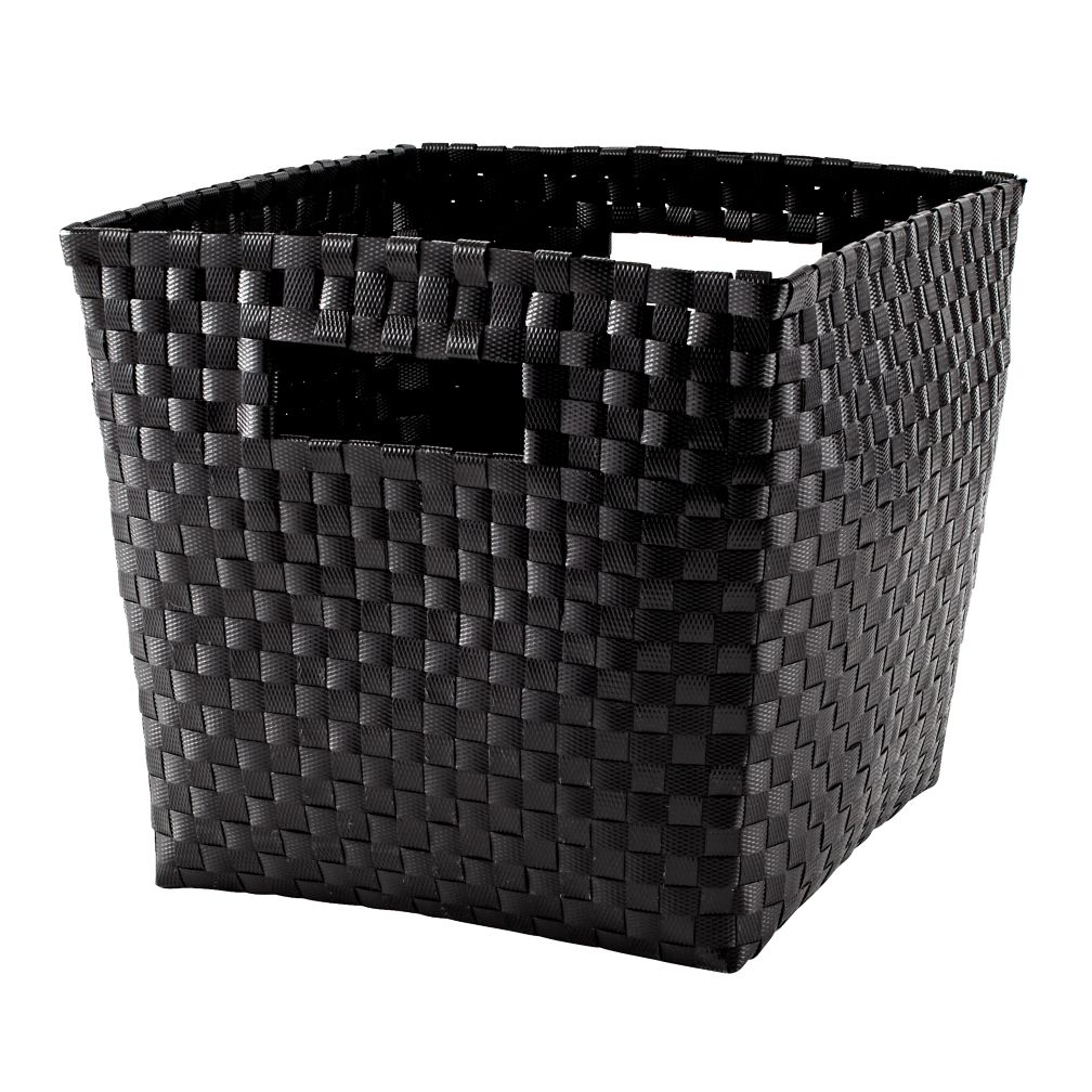Strapping Cube Bin (Black)