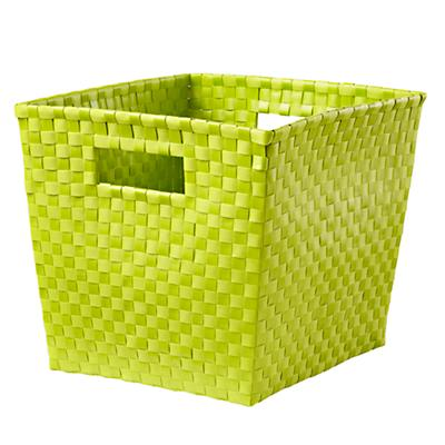 Strapping Cube Bin (Lime Green)