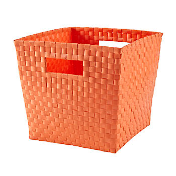 Strapping Cube Bin (Bright Orange)