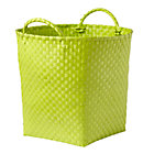 Lime Green Strapping Floor Bin