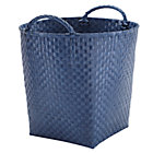 Dark Blue Strapping Floor Bin