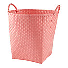 Light Pink Strapping Floor Bin