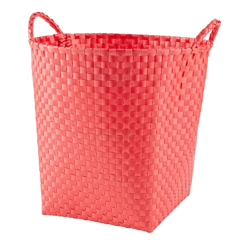 Strapping Floor Bin (Bright Red)