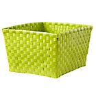 Lime Green Shelf Basket