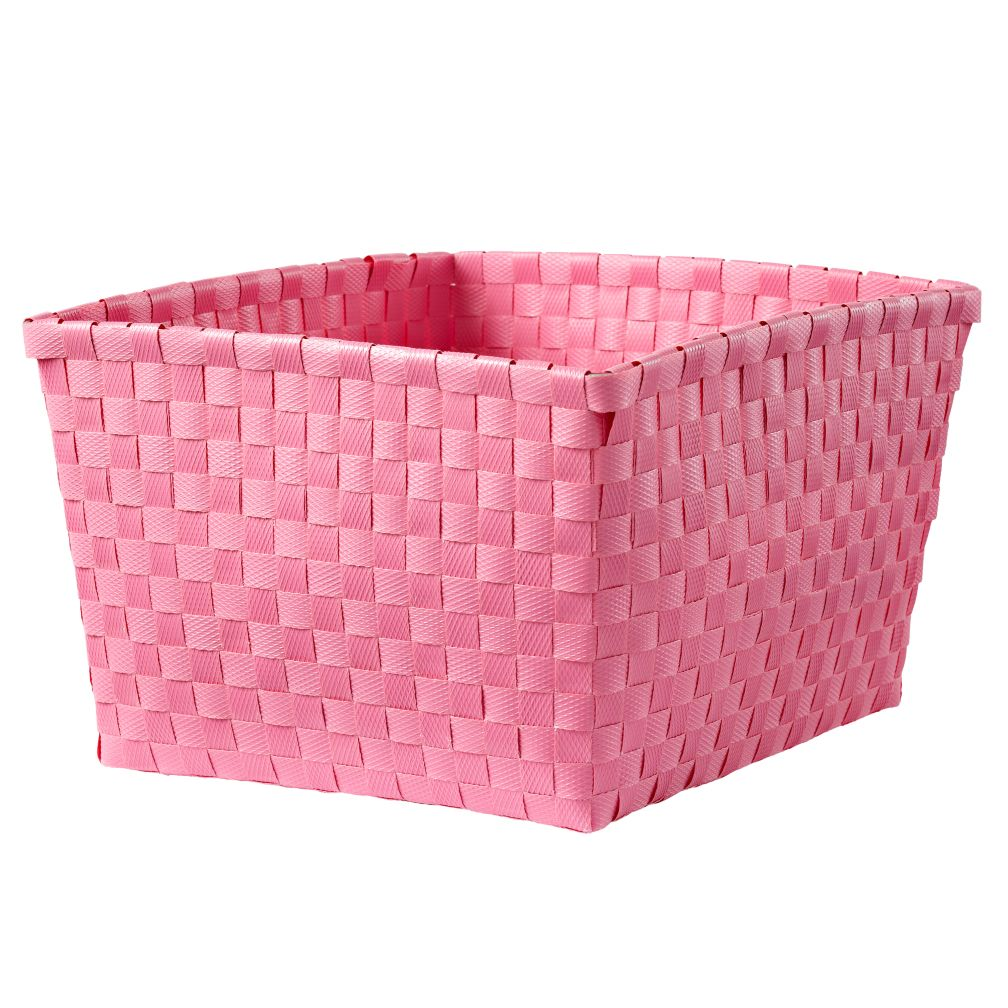 Strapping Shelf Basket (Pink)