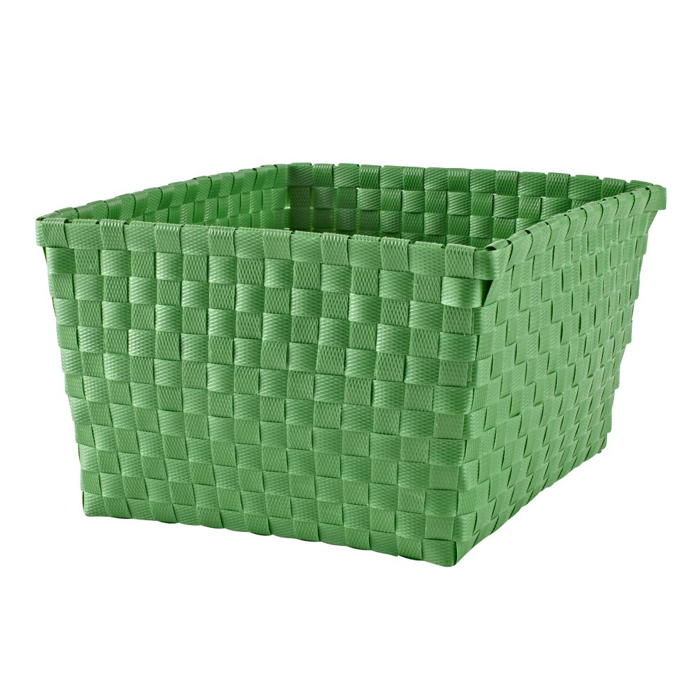 Strapping Shelf Basket (Green)