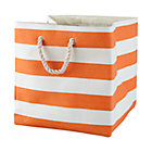 Orange Stripes Around the Floor Bin