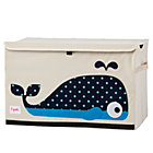 Canvas Whale Toy Chest