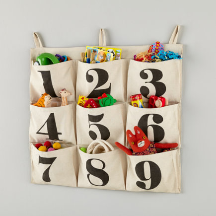 Touch Tone Numbered Wall Hanger