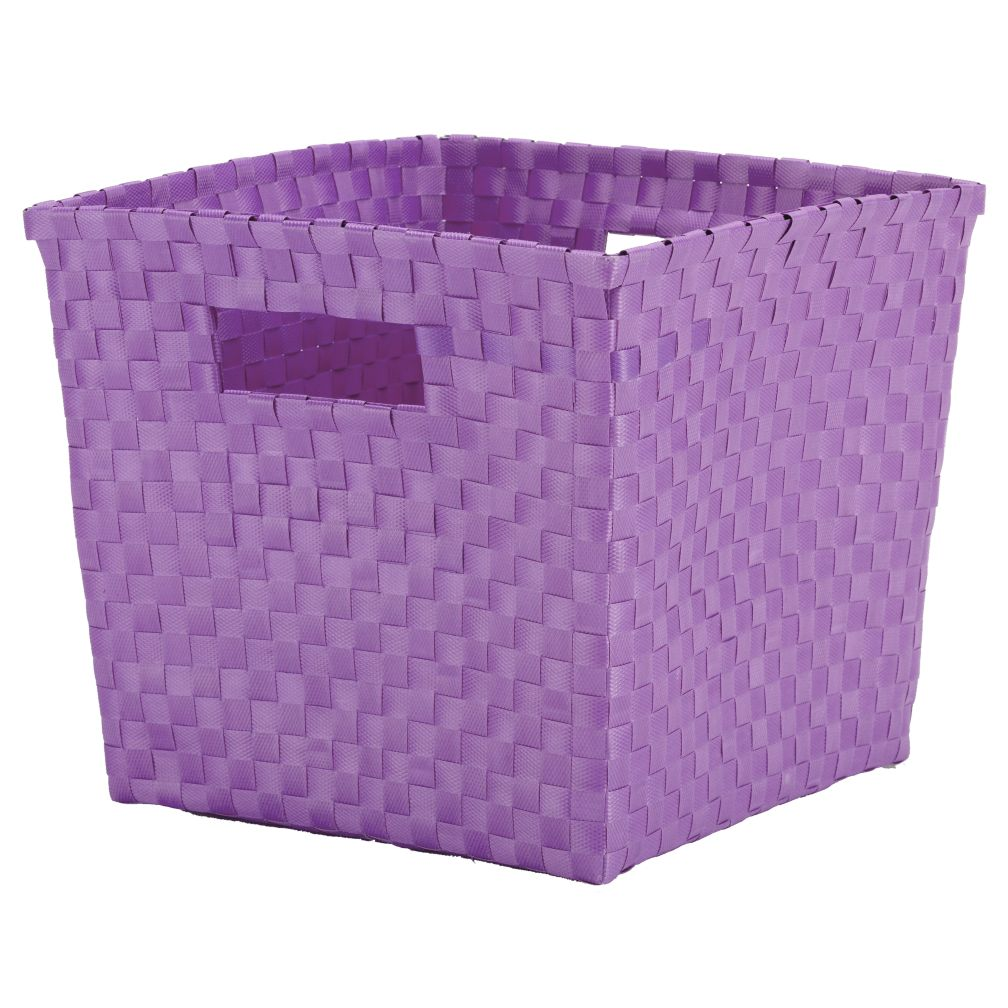Strapping Cube Bin (Lavender)