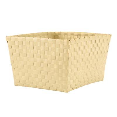 Strapping Shelf Basket (Yellow)